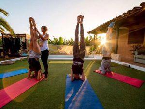 Outdoor Yoga Lessons Tenerife