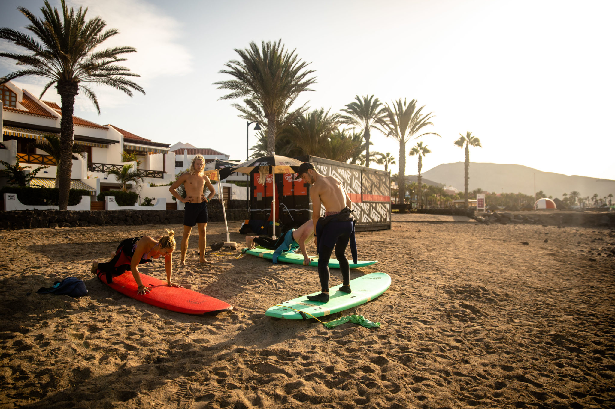 SURFING IN TENERIFE