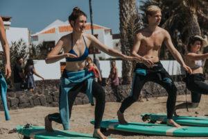 surf class tenerife